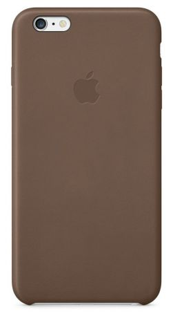 Чехол для Apple iPhone 6 Plus Leather Case (Olive Brown)