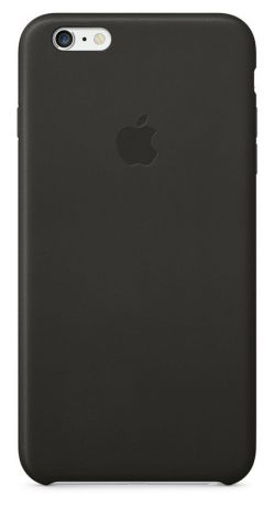Чехол для Apple iPhone 6 Plus Leather Case (Black)