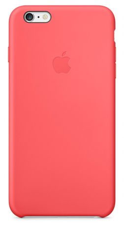 Чехол для Apple iPhone 6 Plus Silicon Case (Pink)