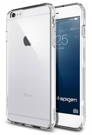 Чехол для Apple iPhone 6 Plus SGP Ultra Hybrid Case (Crystal Clear)