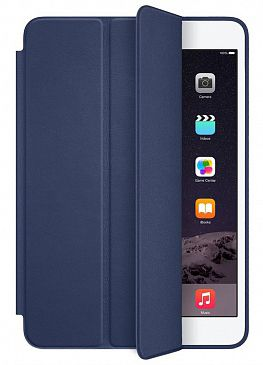 Чехол для iPad mini 3 Apple Smart Case Leather (Midnight Blue)