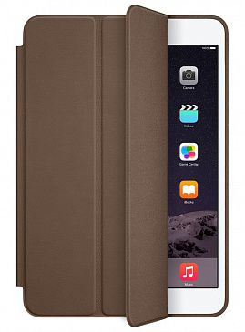 Чехол для iPad mini 3 Apple Smart Case Leather (Olive Brown)