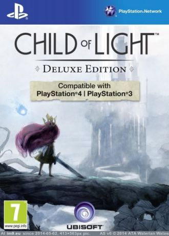 Игра для PlayStation 4 Child of Light Deluxe Edition