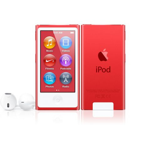 Плеер Apple iPod Nano 7G 16Gb (Red)