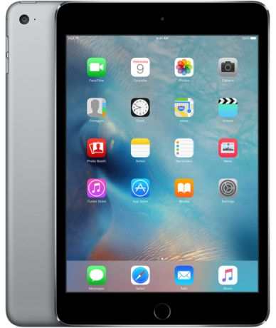 Планшет Apple iPad mini 4 Wi-Fi 16Gb (Space Gray)