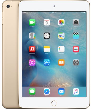 Планшет Apple iPad mini 4 Wi-Fi + Cellular 128Gb (Gold)