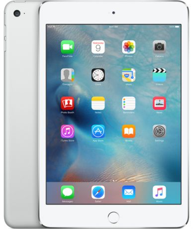 Планшет Apple iPad mini 4 Wi-Fi + Cellular 64Gb (Silver)
