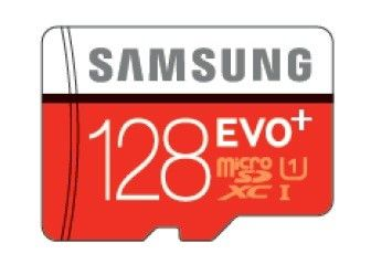 Карта памяти Samsung microSDHC EVO PLUS 128Gb +SD adapter