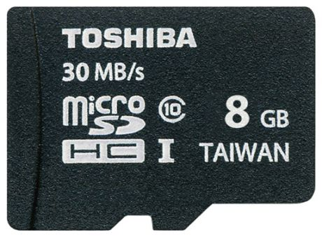Карта памяти Toshiba 8gb SD-C008UHS1 + SD adapter
