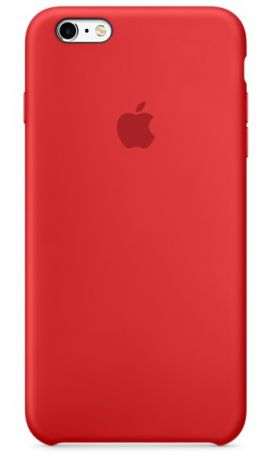 Чехол для Apple iPhone 6s Plus Silicon Case (Red)