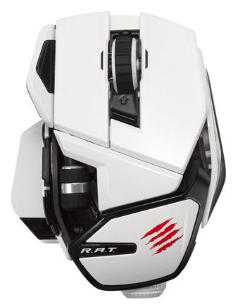Мышь Mad Catz Office R.A.T Wireless Mouse (White)
