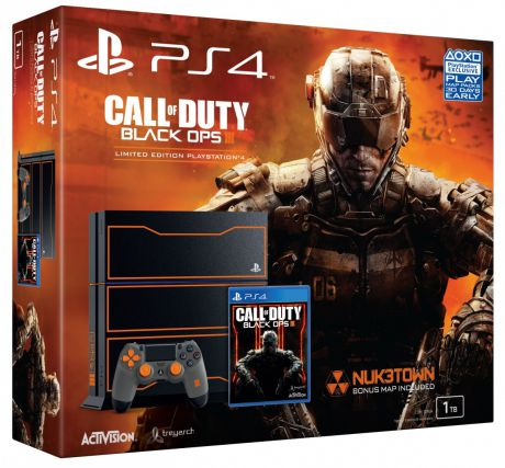 Игровая приставка Sony PlayStation 4 1TB SE+ игра Call of Duty:Black OPS 3 Special Edition