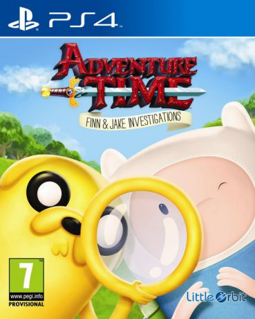 Игра для PlayStation 4 Adventure Time: Finn and Jake Investigations