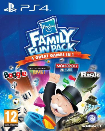 Игра для PlayStation 4 Hasbro Family Fun Pack