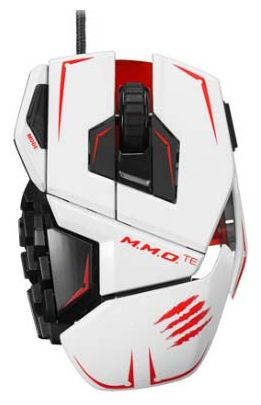 Мышь Mad Catz M.M.O.TE Gaming Mouse (White)