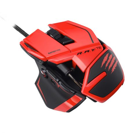 Мышь Mad Catz R.A.T.TE Gaming Mouse (Red)