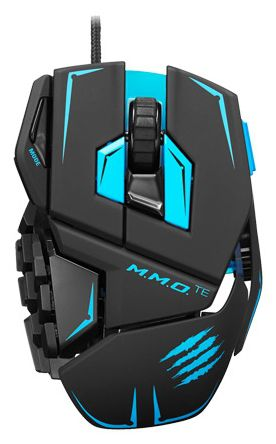 "Мышь Mad Catz M.M.O.TE Gaming Mouse (Matt Black) + купон от ""World of Tanks"""