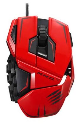 Мышь Mad Catz M.M.O.TE Gaming Mouse (Red)