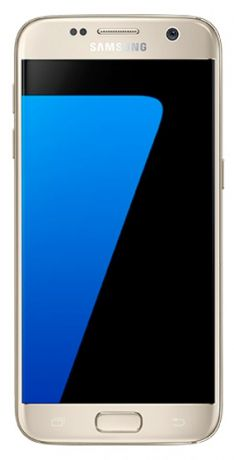 Телефон Samsung Galaxy S7 32Gb (Золотой)