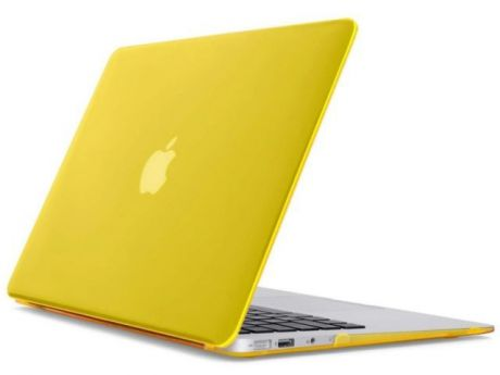 "Накладка Daav для Macbook Air 13"" Retina (Желтый)"