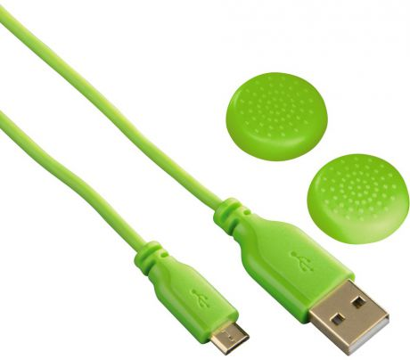 Hama Super Soft USB – microUSB Green