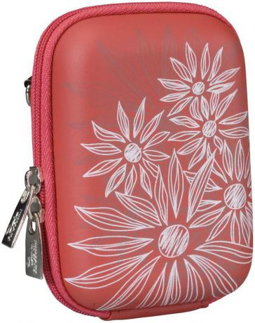 Rivacase 7023 PU Digital Case Red (Flowers)
