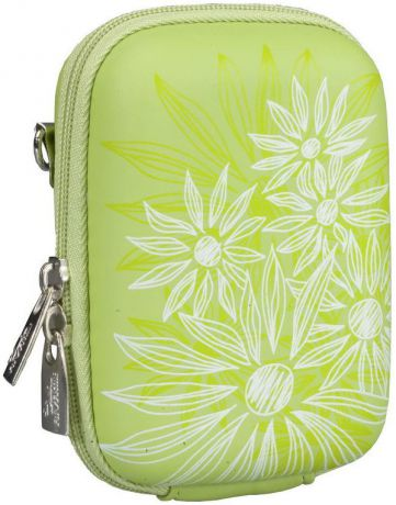 Rivacase 7023 PU Digital Case Green (Flowers)