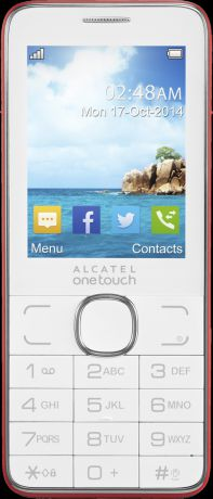 Alcatel One Touch 2007D Red