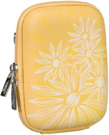 Rivacase 7023 PU Digital Case Yellow (Flowers)