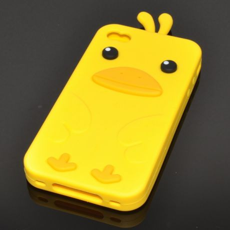 Чехол для iPhone 4/4S Angry Birds 1-403