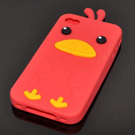 Чехол для iPhone 4/4S Angry Birds 1-405
