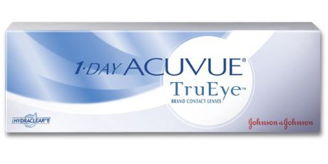 Johnson&Johnson Линзы на 1день 1Day Acuvue TruEye, 90шт.