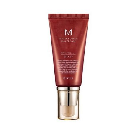 MISSHA BB крем для лица M Perfect Cover BB Cream SPF42/PA+++ (13/Bright Beige)