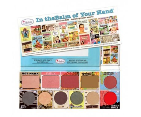 The Balm Палетка средств для макияжа In the balm of your hand