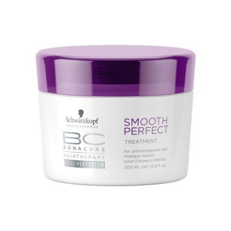 Schwarzkopf Professional Bonacure Smooth Perfect Маска Идеальная Гладкость (Treatment)