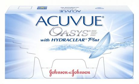 Johnson&Johnson Линзы Акувью Оазис на 2 недели