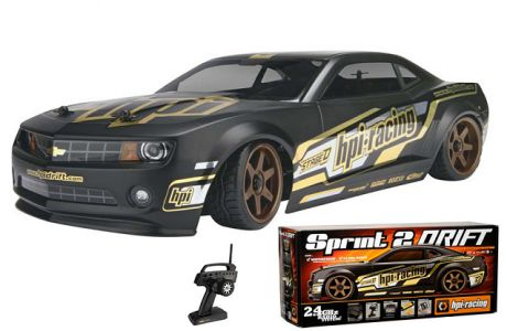 HPI Sprint 2 Drift Camaro 4WD 2.4Ghz (дрифт)