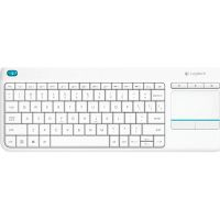Клавиатура Logitech Wireless Touch Keyboard K400 Plus белая (920-007148)