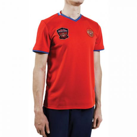 Forward FORWARD GOLD RUSSIA POLY V-NECK SS SHIRT