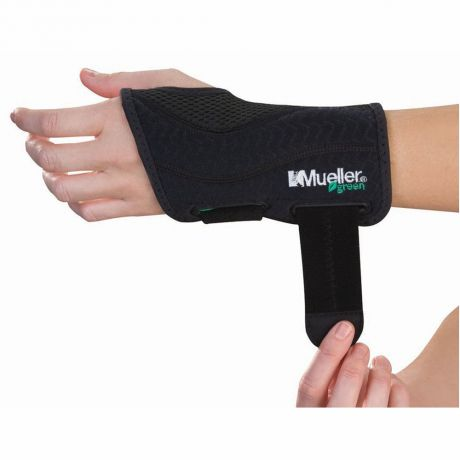 Mueller Mueller Green Fitted Wrist Brace Left L-XL
