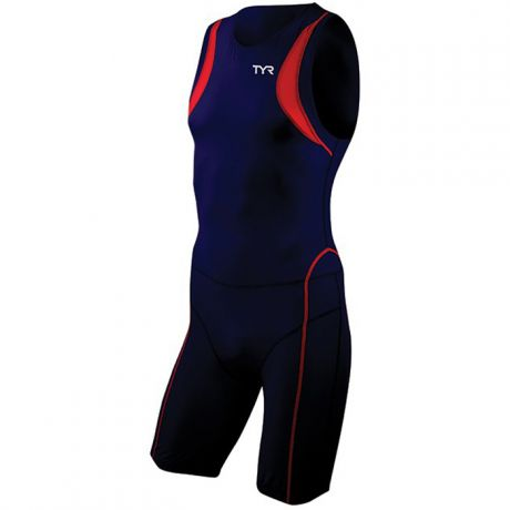 TYR Tyr Carbon Zipper Back Short John WP