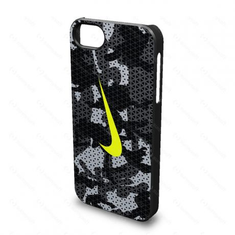 Nike NIKE CAMO HARD PHONE CASE IPHONE 5