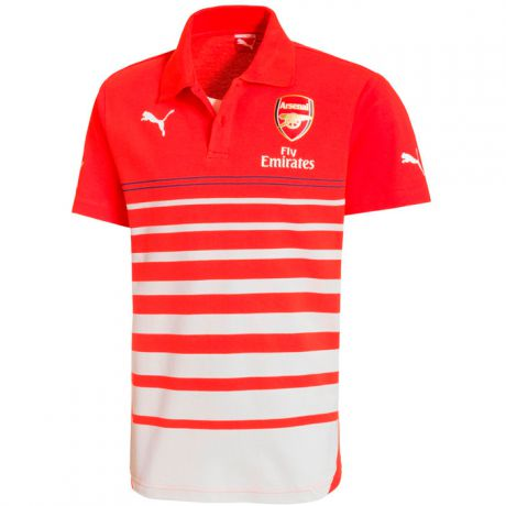 Puma PUMA FC ARSENAL LEISURE HOOPED POLO
