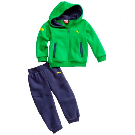 Puma PUMA HOODED BABY JOGGER SUIT