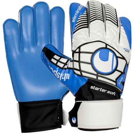 Uhlsport UHLSPORT ELIMINATOR STARTER SOFT GOALKEEPER GLOVES