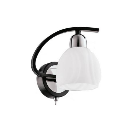 Бра IDLamp 389/1A-Blackchrome