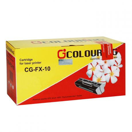 Colouring CG-FX-10 для Canon Fax MF4010/4012/4120/4150/4270/4320/4322/4330/4340/4350/4370/4680 FAX-L100/110/120/160 (2000стр)