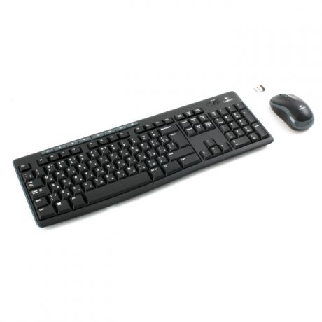 Клавиатура+мышь Logitech Wireless Combo MK270 Black USB 920-004518