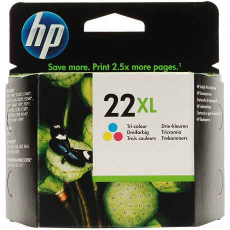 HP C9352CE №22XL Color для PSC 1410/3920/3940
