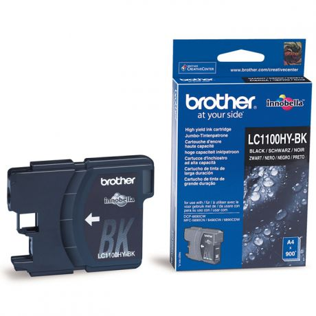 Brother LC-1100HYBK Black для DCP6690CW (900стр)